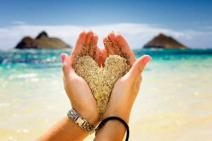 beautiful+sand+heart